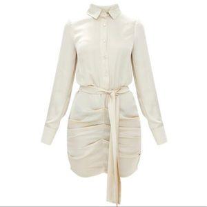 Dresses & Skirts - Ruched shirt dress